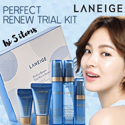 Laneige Perfect Renew TrialKit Deals for only Rp90.000 instead of Rp109.756