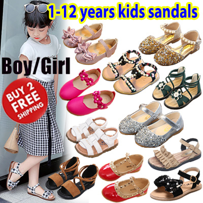 a64677f1866c 21 April New❤ Kids Shoes Girl Princess Sandles Sneakers Sandals Baby Boy