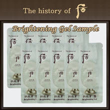 [The History Of Whoo] Gongjinhyang Seol Brightening Gel Sample 1ml*20ea (Total 20ml)