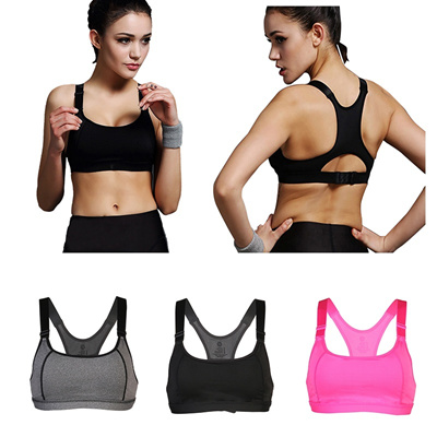 37a51252c70cf Women Yoga Bra Sports Bra for Running Gym Fitness Athletic Bras Padded Push  Up Tank Tops