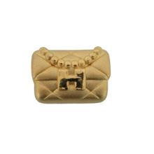 Chow Tai Fook 999 Pure Gold Charm - Clutch Bag [H] R28352