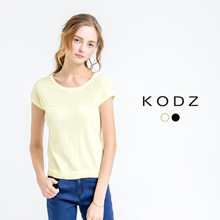KODZ - Knit Printed Top-171394