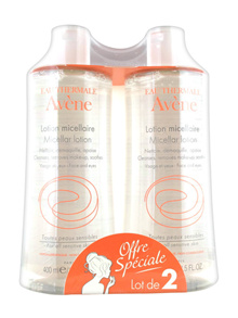 Avene Micellar Lotion Cleanser and Make-Up Remover 2 x 400ml