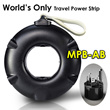 MOGICS Power Bagel - World Only Travel Power Strip | Adapter | Charger | Plug | Socket