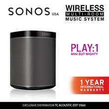 Sonos Play:1 Wireless Speaker 2 Colors (Exclusive Distributor 1 Year International Warranty)