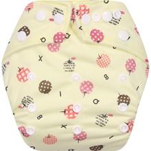 Clodi Popok Kain Bayi Babyland Snap Microfiber Apple   cloth diaper   Best seller
