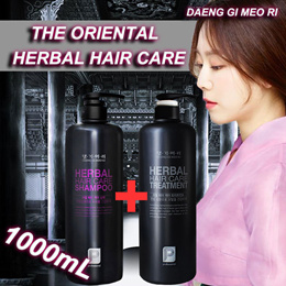 [DAENG GI MEO RI] Herbal shampoo treatment 1000ml / Hair Loss Care