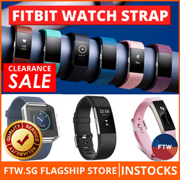 [CLEARANCE SALE!!] Fitbit Alta HR Blaze Charge 2 Band Strap Silicone Sports Leather Milanese Loop