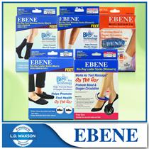 1+1+1 [EBENE] Bio-Ray Loafer Socks/Sports Socks/Foot Massage Socks with Tourmali x 3pcs