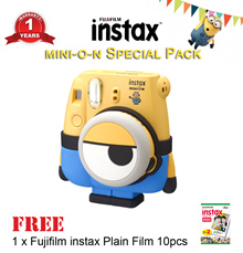 [Fujifilm]Instax Mini 8◆Minion Special Pack◆FREE 1 Pack Assorted Film◆1 Year Warranty◆ READY STOCK