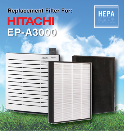 Compatible Replacement filter for Hitachi EP-A3000[Free Delivery] [Free  Alcohol Swab] [7days return]