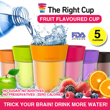 NEW!!! The Right Cup: Trick Your Brain Drink More Water! / 5 FLAVOURS