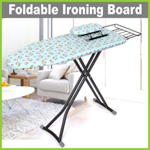 [LIFE+] FOLDABLE IRONING BOARD • A3 GREEN FLORAL /A6 SILVER GREY (Extra Long/Extra Strong)