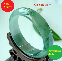 New arrive top quality Myanmar Grade A Ice Type Jade/ Best selling Bangle