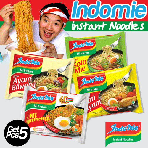 [ GET 5 PCS ] INDOMIE FRIED NOODLES Deals for only Rp26.500 instead of Rp26.500