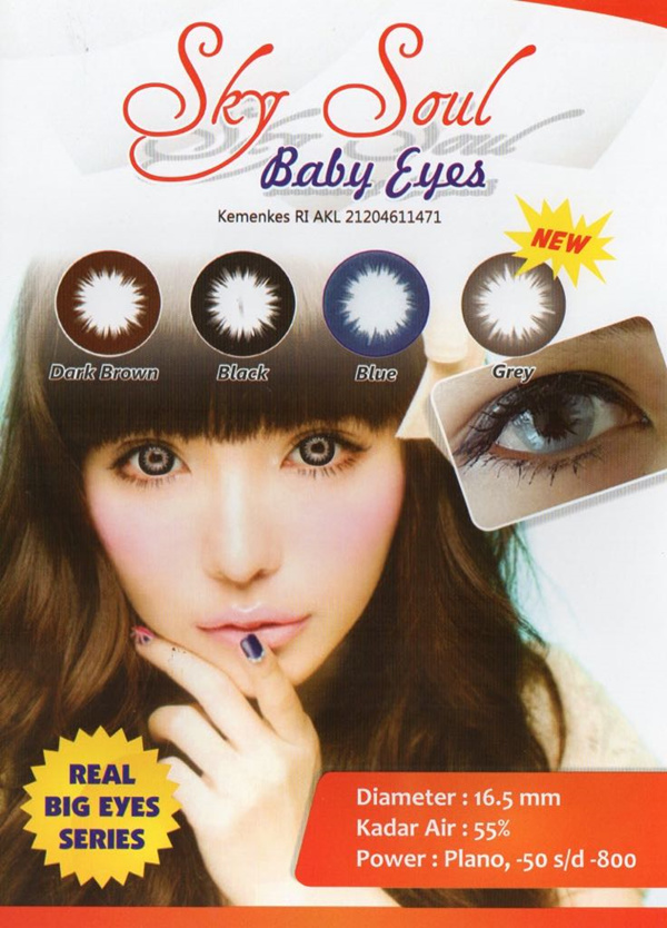Sky Soul Baby Eyes Deals for only Rp51.000 instead of Rp51.000