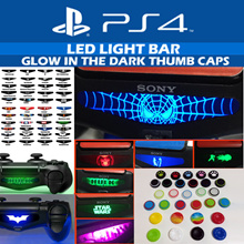 [Gadgetscovery] [LED VOL.2] PS4/Xbox One- Thumb Caps LED Light Bar Decals. 0ver 200 designs