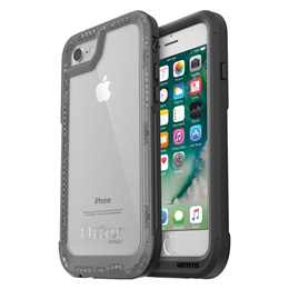 OtterBox Pursuit Thin Drop Protection Case for iPhone 7 iPhone 8 Black Clear