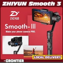 ZHIYUN SMOOTH 3★3-Axis Handheld Gimbal Stabilizer☆IPhone X 8Plus Note8☆Action Camera