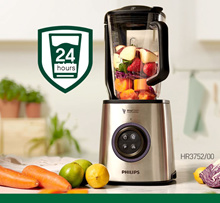 Philips HR3752 / 00 1.8L (up to 2L) Vacuum high speed blender Ice crushing BPA FREE new