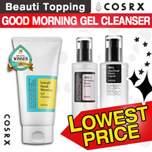 ★COSRX★Low pH Good Morning Gel Cleanser / BHA Blackhead Power Liquid / AHA 7 Whitehead Power Liquid