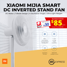 [Ready Stock] Xiaomi MiJia DC Inverted Stand Fan | Deliver within 1-2days | Operate with Cord