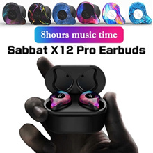 Sabbat  E12/X12 pro Wireless Earbuds 5.0 Bluetooth Earphone Sport Hifi Headset Earbuds