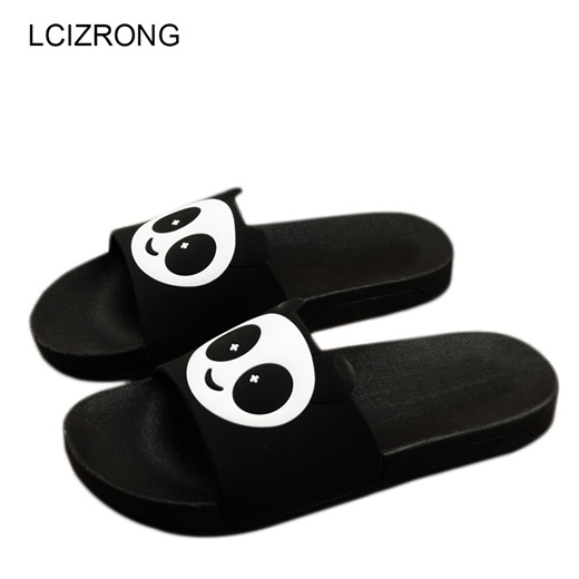 Qoo10 Lcizrong Panda Slippers Women