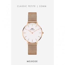 Daniel Wellington Classic Petite Melrose White 32mm Rose Gold