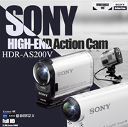 SONY Digital Action Cam HDR-AS200V / HDR-AS200VR / HDR-AS200VB / HDR-AS200VT Bundle/ FDR-X1000V /FDR-X1000Vr  New