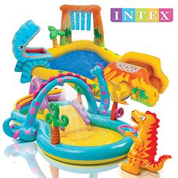 INTEX 플레이센터 풀장 공룡수영장 수영용품 (다이나란도 /다이노소어 등) / 아이들이 너무나 좋아하는 미니 수영장