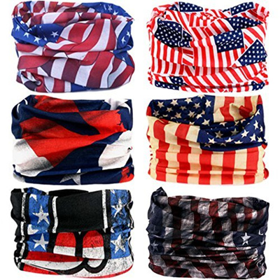 ea20fd92272 (VANCROWN) Headwear Head Wrap Sport Headband Sweatband 220 Patterns Magic  Scarf 12PCS   6PCS