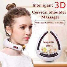 Intelligent 3D Electric Pulse Neck Massager Cervical Vertebra Impulse Massage Magnetic Therapy
