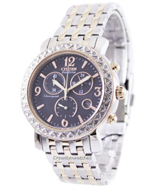 [CreationWatches] Citizen Eco-Drive Chronograph FB1296-51H Womens Watch