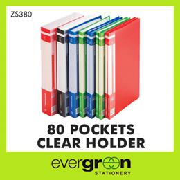 80 Pockets Clear Holder (Zs380)