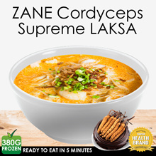 🌿 Cordyceps Supreme LAKSA 🌿 Ready To Eat in 6 minutes | Boost Immunity