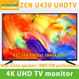[WASABIMANGO] 4K UHD TV monitor / Flicker-free / Low Blue Light / 3840x2016 / 16:9WIDE / 10WX10W / U
