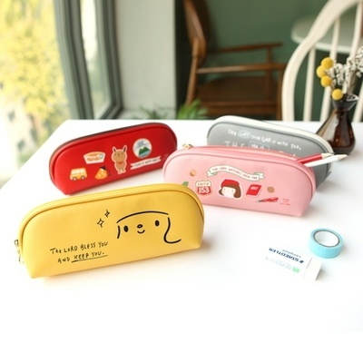 [Korea Stationery] Grace Bell Helo Jane Story Pen Case (4 Types) 』