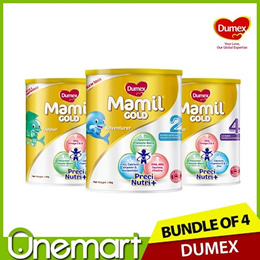 [DUMEX] 2 x 1.6kg Carton Sale ★  Step 2/3/4 Baby Milk Formula ★