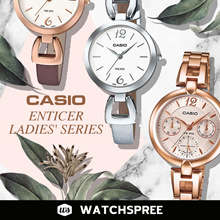 *APPLY 25% OFF COUPON* CASIO LTPE401 LTPE402 Ladies Enticer Series. Free Shipping and Warranty!