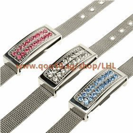 SG Crystal USB Flash Driver/Thumbdrive/USB Memory/Top grade/Bracelet/Necklace