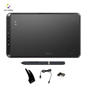 "XP-Pen Star05 Wireless Drawing Graphics Tablet Battery -free Grip Pen(2048 levels) Touch Keys 10x6"" Black"