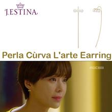 [Jestina] ◆Lowest Price◆Genuine Jestina JESYD400-M197TR Perla Curva Larte Earring /Earrings/Descenda