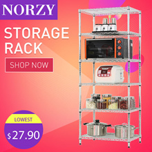 5 Tier Rack | Storeroom | Office Adjustable Storage Shelves | kitchen Storage Shelve