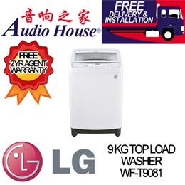 LG WF-T9081 9KG TOP LOAD WASHER ***2 YEAR LG WARRANTY***