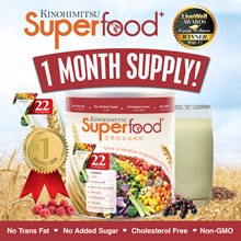 Kinohimitsu Superfood+ (500g/Tin) x 1 month supply [22 Multigrains Cereal Drink OVER 60000 SOLD]