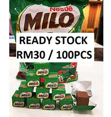 Cheapest Deal!!! [105PCS] Nestle Milo Cube (FREE SHIPPING) -- ORIGINAL / HALAL (Exp Date: APR 2018)