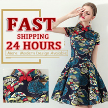 💕 Sepcail Promo+fast ship  💕2019 PREMIUM Modern Cheongsam/Qipao/ CNY Dress/Embroidery DRESS