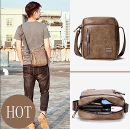 Shoulder bag maleFashion large capacity messenger bag