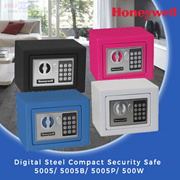 【Honeywell】5005/ 5005B/ 5005P/ 500W Digital Steel Compact Security Safe {perfect compact safe for p
